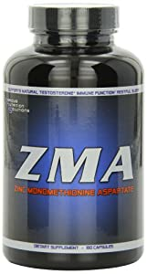 Serious Nutrition Solution ZMA Capsules, 180 Count