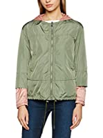 ADD Chaqueta Reversible (Verde / Salmón)