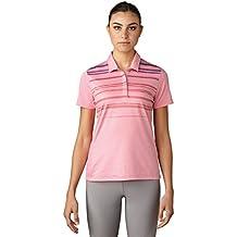 Adidas Golf Women's Traditional Merch Stripe Polo T-Shirt