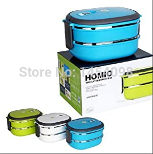stainless steel thermal insulated bento lunch box for kids portable sushi lunchbox. Black Bedroom Furniture Sets. Home Design Ideas