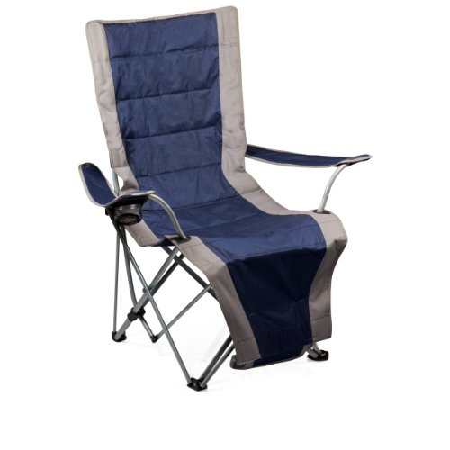 Time Portable Lounger Reclining Chair Navy