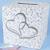 Wedding Card Box - 2 Hearts Design