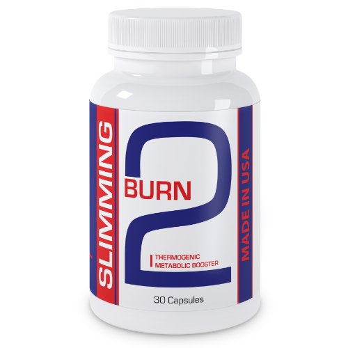 2Burn Super Fat Burner Thermogenic Weight Loss Supplement Made In Usa