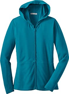Port Authority Ladies Modern Stretch Cotton Full-Zip Jacket, mosaic blue, X-Small