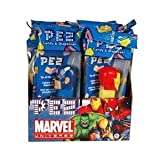 Pez Dispenser Marvel Heroes Avengers (Pack of 12)