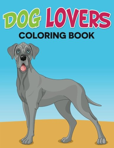 Dog Lovers Coloring Book