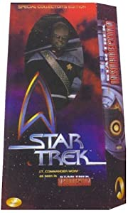 "12"" Special Movie Collector's Edition Star Trek Lt. Commander Worf As Seen in Star Trek: Insurrection Action Figure"