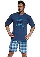 Pyjamas pour hommes 326/31 M-XXL Marque Cornette 100% Coton