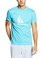 BLUE SHARK Camiseta Manga Corta (Turquesa)