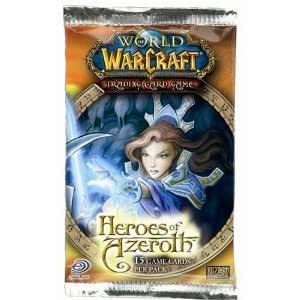 World of Warcraft Trading Card Game Heroes of Azeroth 15-Card Booster Pack