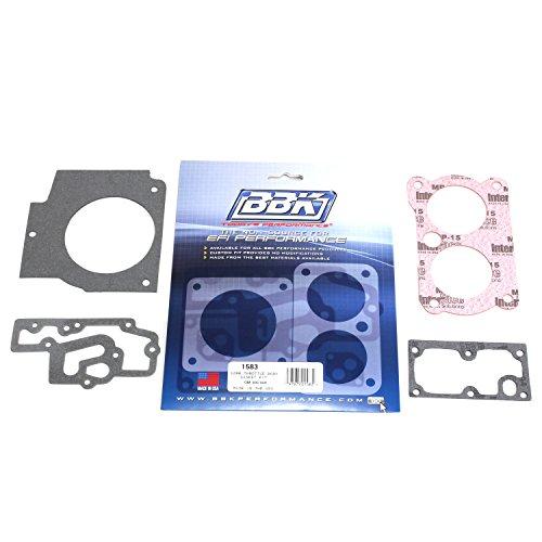 BBK 1583 Twin 52mm Throttle Body Gasket Kit for GM Twin 305/350 (Camaro Throttle Body Gasket compare prices)