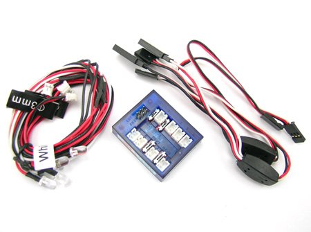 LED Lighting Kit for Cars and Trucks 1/10th Scale and Smaller (Led Rc Car Light Kits compare prices)