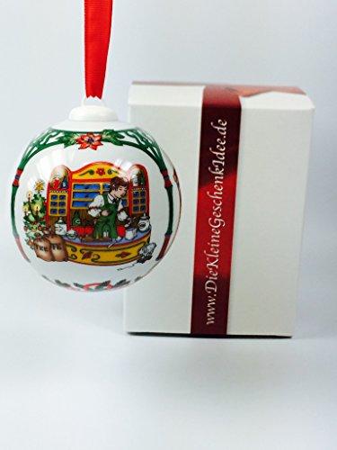 Hutschenreuther-Porzellan-Weihnachtskugel-1998-in-neutraler-Geschenkverpackung-NEU-1Wahl