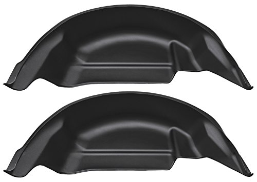 Husky Liners 79121 Black Rear Wheel Well Guard (F150 Wheel Well Liners compare prices)