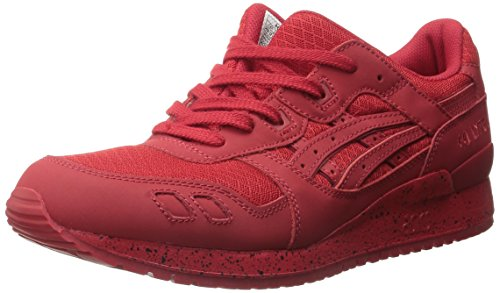 ASICS Men's Gel-Lyte Iii Fashion Sneaker, Red/Red, 10 M US