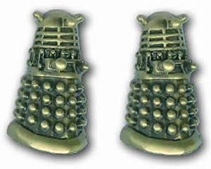 3D Dalek Cufflinks