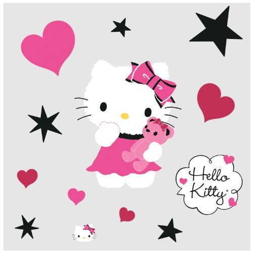 Hello Kitty Wall Decals and Stickers