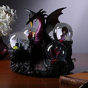 Amazon Com Disney Villains Snowglobe Snow Globe Dragon