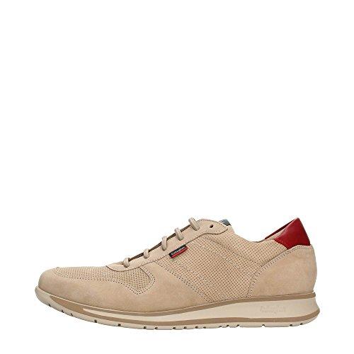 CallagHan 88402 Sneakers Uomo Pelle Beig Beig 43