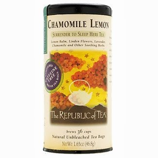 The Republic Of Tea, Chamomile Lemon Herbal Tea Bags
