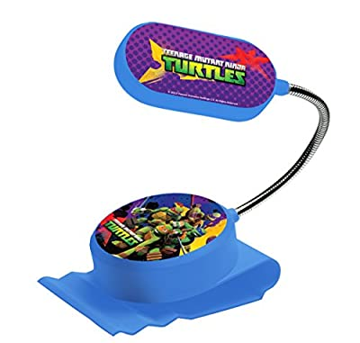 Spearmark Teenage Mutant Ninja Turtles Clip on Bed Light, Blue