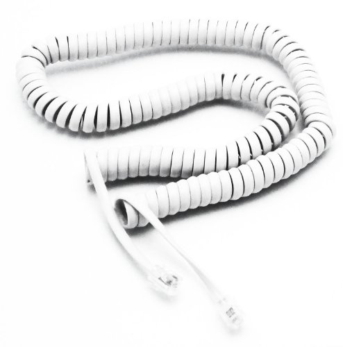 telephone cord handset curly