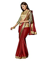 Saree Galaxy Women Satin Saree