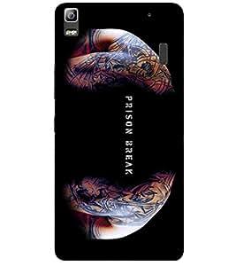 Doyen Creations Designer Printed High Quality Premium case Back Cover For Lenovo A7000