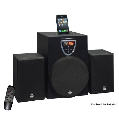 Pyle Home Psb6Ai 2.1 Multimedia Audio System Power (Max):100 Watts