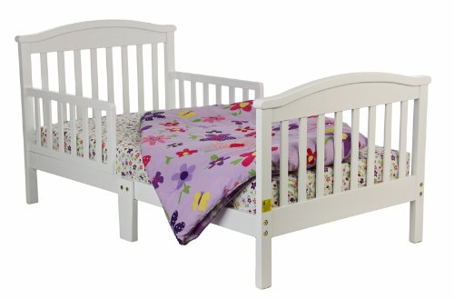 Dream On Me Mission Collection Style Toddler Bed, White