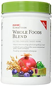 GNC Superfoods Whole Foods Blend Supplement, 1.78 Pound
