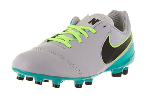 Nike JR TIEMPO LEGEND VI FG - Scarpe da ginnastica Unisex, Grigio, 38