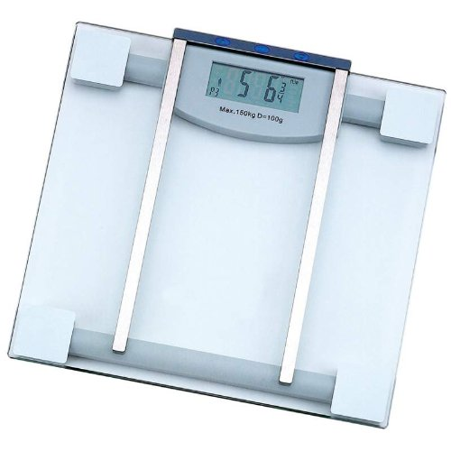 Cheap 4 Of Best Quality Electronic Body Fat Scale By HealthSmart&trade Glass Electronic Body Fat Scale (BNFELSCALE4)
