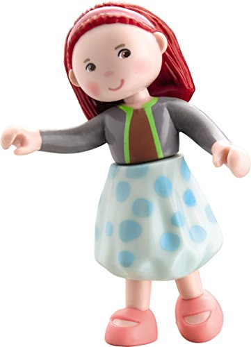"HABA Little Friends Bendy Dollhouse Doll Imke 4"" Redhead"