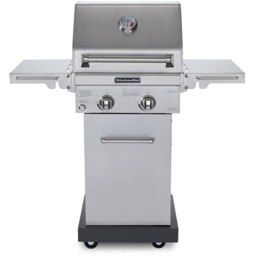 Kitchenaid 20-inch 2 Burner Natural Gas Grill On Cart