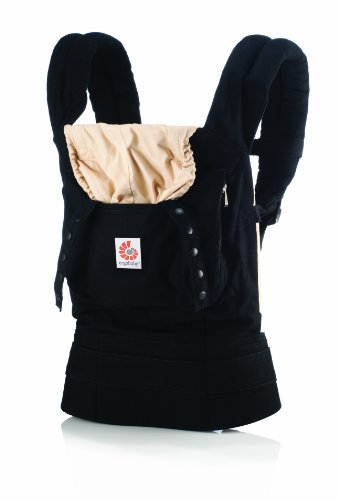 Lowest Prices! ERGObaby Original Baby Carrier, Black/Camel