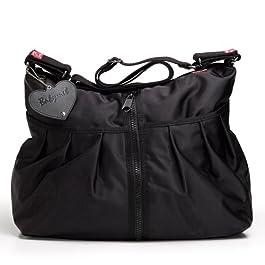 Babymel - 309A - Sac à Langer - Amanda Zipper - New Big - Noir
