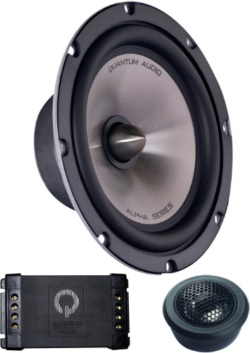 Quantum Alpha Series 6.5-Inch Component Speaker grivel инструмент ледовый quantum tech