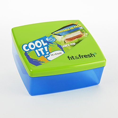 Fit & Fresh Kids Lunch Pod, Assorted Colors