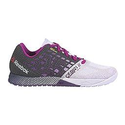 Reebok Women\'s R Crossfit Nano 5.0 Training Shoe, Lilac Ice/Black/Royal Orchid/Fierce Fuchsia, 8 M US