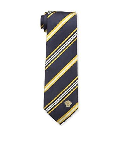 Versace Men's CR8LSEB11640005 Tie, Black, One Size