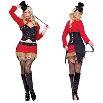 Amazon.com: Leg Avenue Sexy Ringmaster Costume - Medium: Apparel