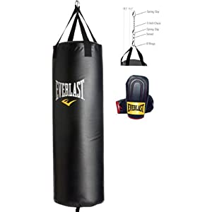 Everlast 60Lb Heavy Bag Kit - Save!