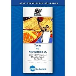 2007 NCAA(r) Division I Men's Basketball 1st Round - Texas vs. New Mexico St.