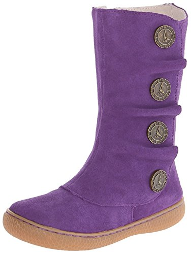 Livie & Luca Marchita Clock Button Boot (Toddler/Little Kid),Grape,12 M Us Little Kid front-101080