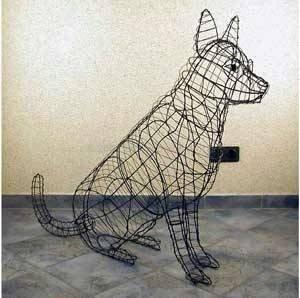 tropical-world Buxus-Figur Schäferhund für Buchsbaum Pflanzen