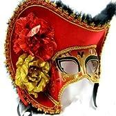 レッド マスカレード 仮面舞踏会 マスク