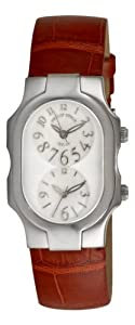 Philip Stein Women's 1FFSMOPABR Alligator Strap Watch by Philip Stein