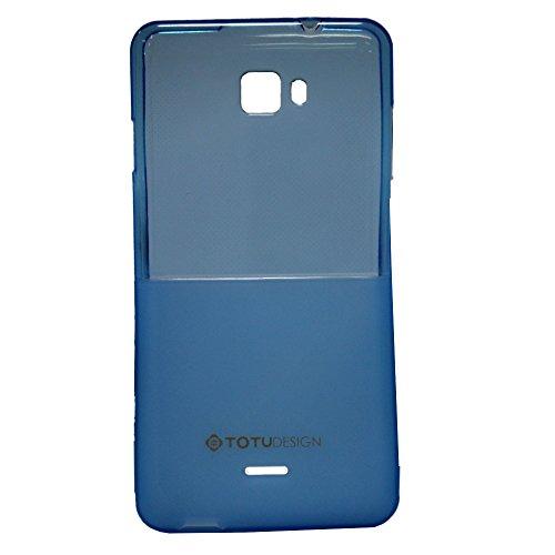 Jo Jo Totu Half Design Soft Silicon Back Cover For Micromax Canvas Nitro A311 Light Blue