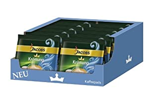 Buy Jacobs Krönung Crema Mild, Pack of 12, 12 x 16 Coffee Pods from Kraft Foods